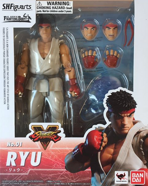 Street Fighter V SH Figuarts Ryu Action Figure #1