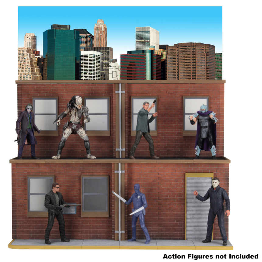 Teenage Mutant Ninja Turtles Neca Street Scene Diorama Pre-Order