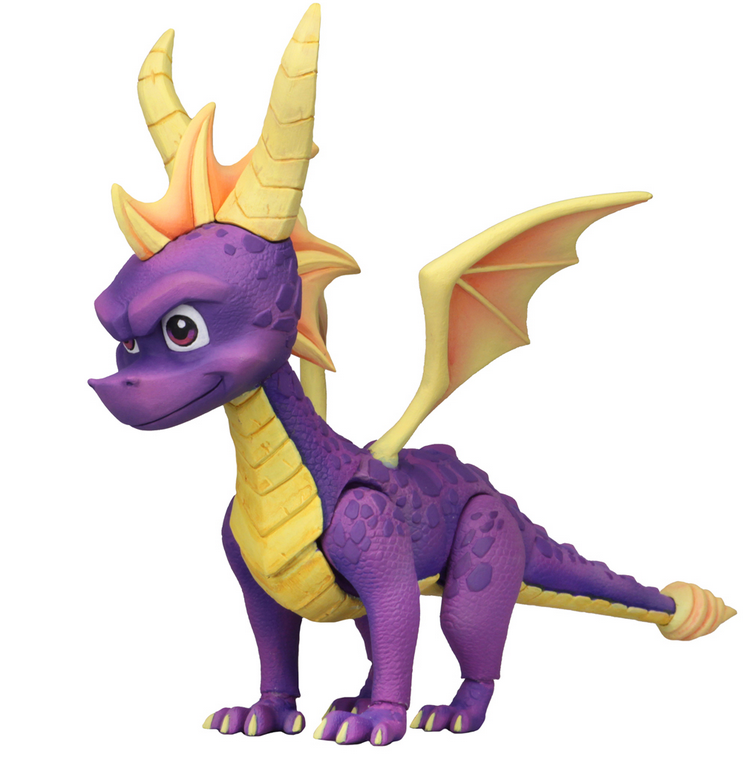 Spyro Neca Spyro the Dragon 7 Inch Action Figure Pre-Order