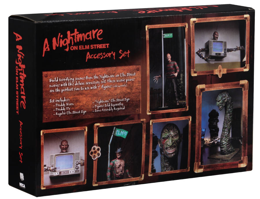 A Nightmare On Elm Street Neca Deluxe Accessory Set Action Figure