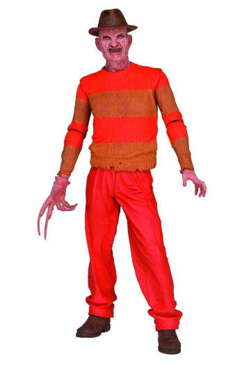 A Nightmare On Elm Street Neca Classic Video Game Freddy Krueger Action Figure