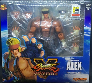 Street Fighter V Storm Collectibles SDCC Exclusive Alex 1:12 Action Figure