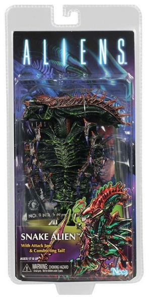 Aliens Neca Series 13 Snake Alien Action Figure