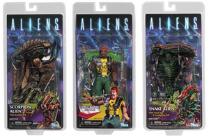 Aliens Neca Series 13 Set Of 3 Action Figures