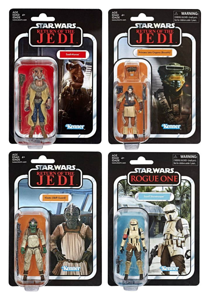 Star Wars The Vintage Collection Wave 4 Action Figure Set Of 4 Pre-Order