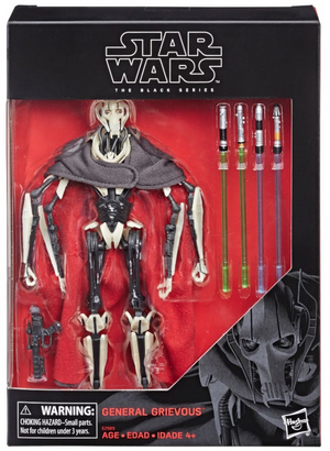 Star Wars Black Series Exclusive General Grevious Action Figure