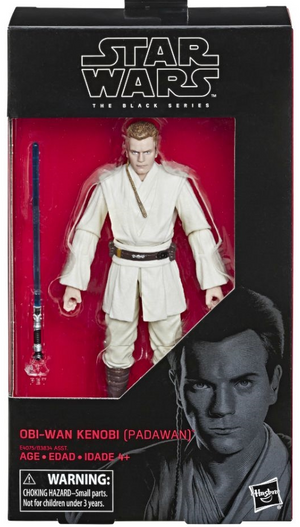 Star Wars Black Series Obi-Wan Kenobi Padawan Action Figure