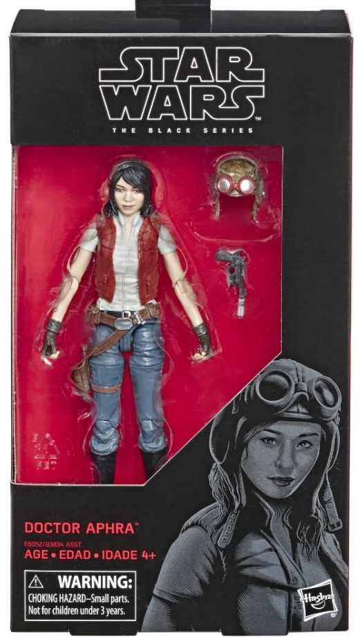 Star Wars Black Series Doctor Aphra Action Figure Coming Soon
