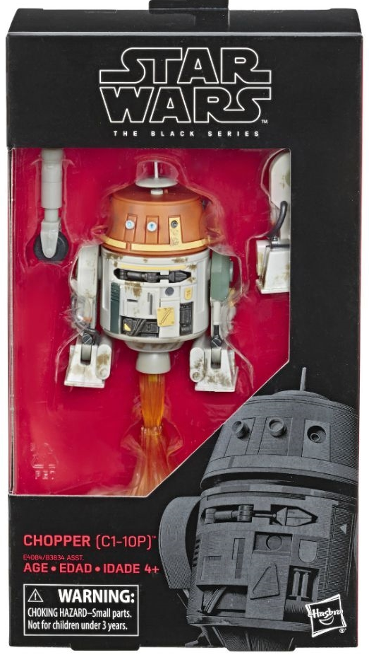 Star Wars Black Series Chopper C1-10P Action Figure Coming Soon