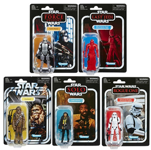 Star Wars The Vintage Collection Wave 6 Action Figure Set Of 5