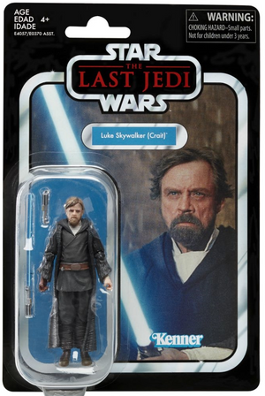 Star Wars The Vintage Collection Luke Skywalker Crait Action Figure Pre-Order