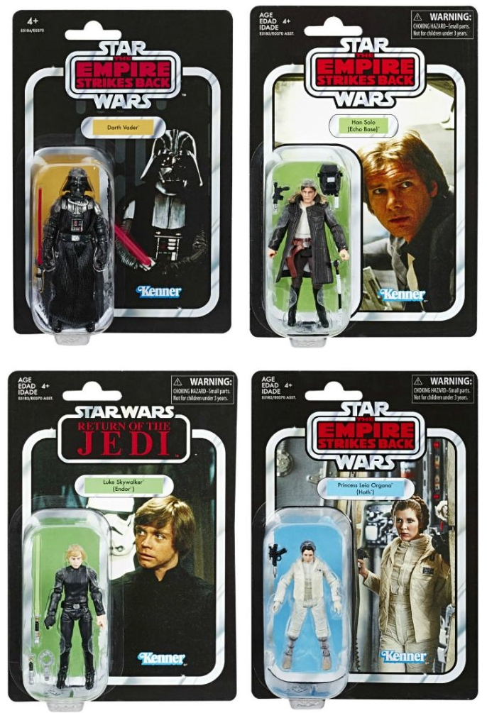 Star Wars The Vintage Collection Wave 5 Action Figure Set Of 4