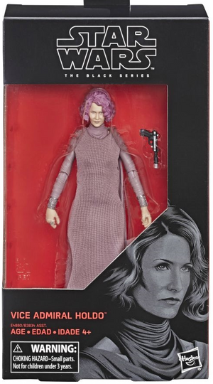 Star Wars Black Series Vice Admiral Holdo Action Figure Coming Soon
