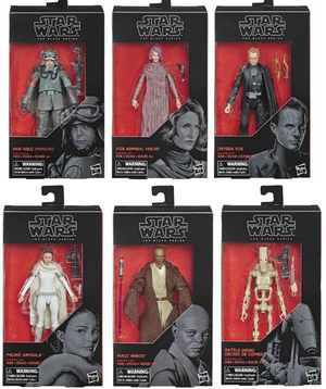 Star Wars Black Series Wave 20 Set of Six Action Figures