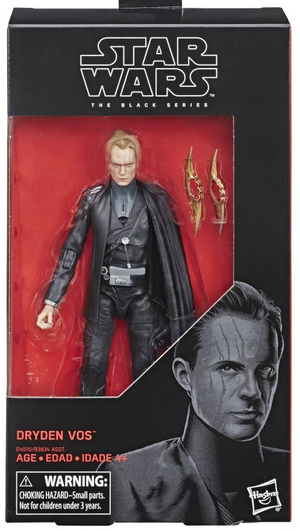 Star Wars Black Series Dryden Vos Action Figure Coming Soon