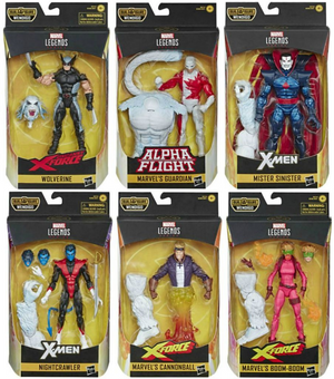 Marvel Legends X-Force Series Wendigo BAF Set of Six Action Figures Coming Soon