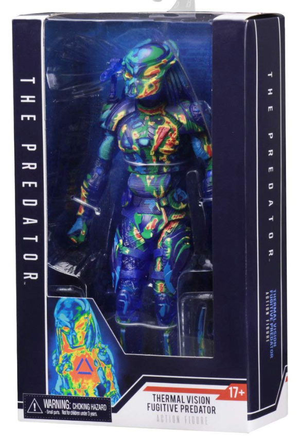 Predator Neca Thermal Vision Fugitive Action Figure