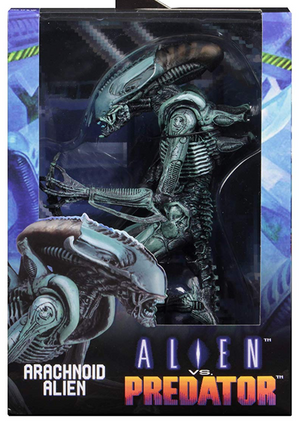 Alien Neca Arcade Game Arachnoid Alien Action Figure
