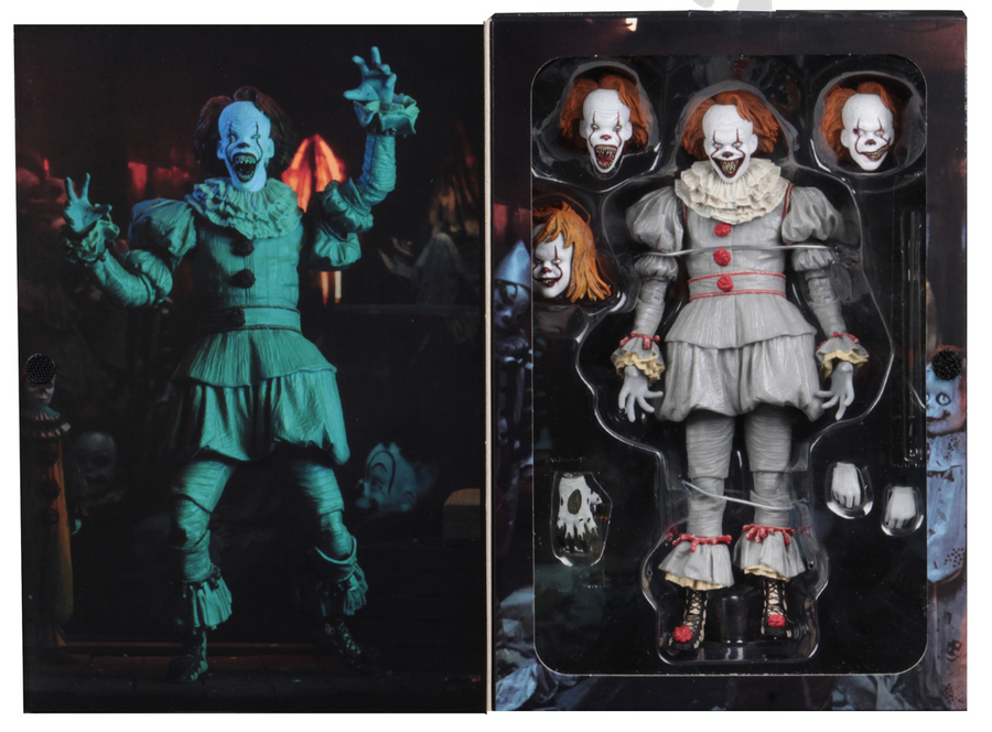 IT Neca Ultimate Pennywise Well House 2017 Action Figure