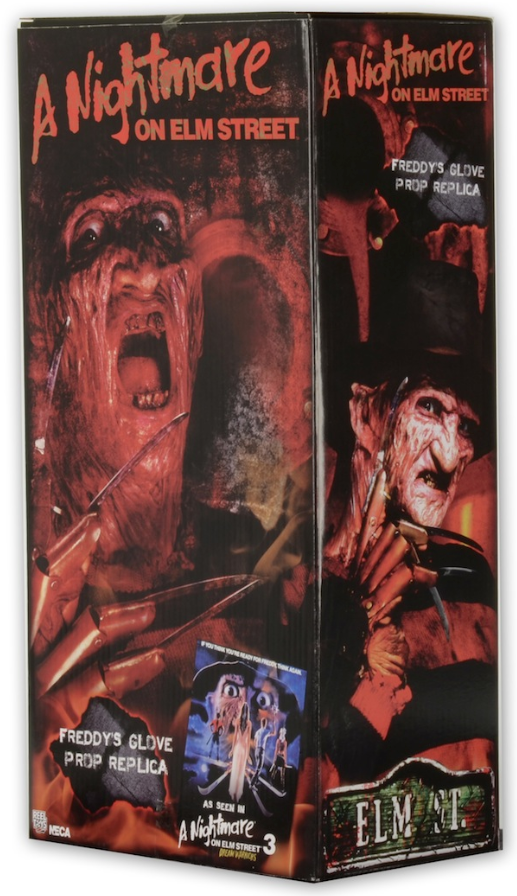 A Nightmare On Elm Street Neca Classic Freddy Krueger Dream Warriors Glove Prop Replica