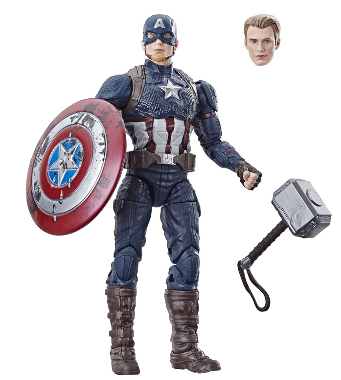 Marvel Legends Exclusive Captain America w/ Mjolnir Hammer Action Figure Pre-Order