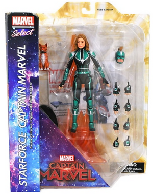 Marvel Diamond Select Captain Marvel Action Figure