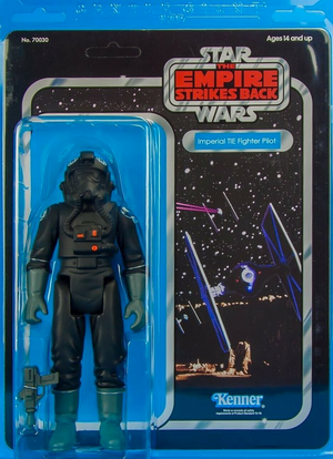 Star Wars Gentle Giant Vintage ESB Jumbo Tie Fighter Pilot Kenner Action Figure