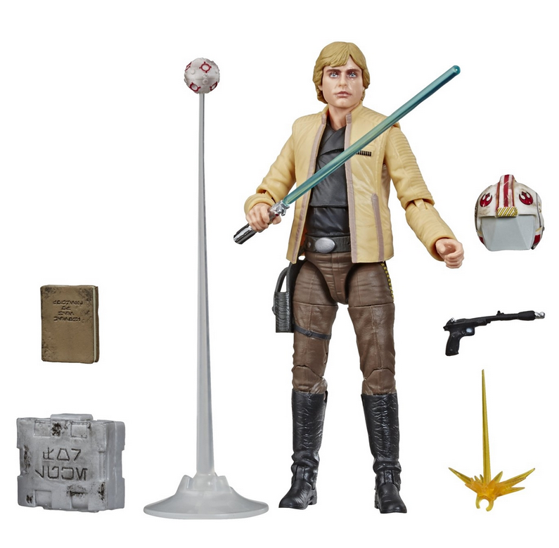 Star Wars Black Series Exclusive Luke Skywalker Ceremonial Action Figure
