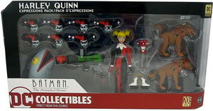 Damaged Packaging DC Batman The Animated Series Harley Quinn Expressions Pack Action Figure #3