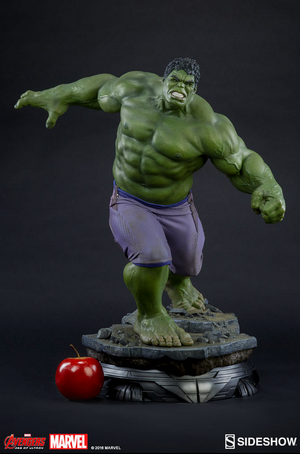 Marvel Sideshow Collectibles Age Of Ultron Hulk Marquette Statue