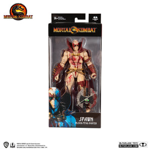 Mortal Kombat McFarlane Spawn Blood Feud Hunter 7 Inch Action Figure