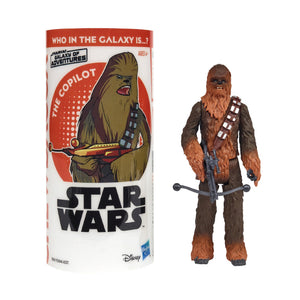 Star Wars Galaxy Of Adventures Series Chewbacca 3.75 Inch Action Figure