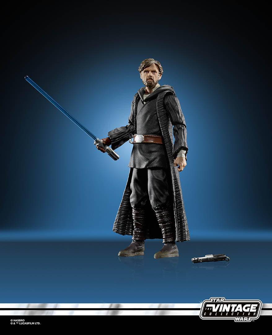 Star Wars The Vintage Collection Luke Skywalker Crait Action Figure Coming Soon