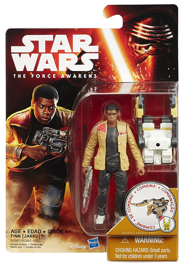 Star Wars Force Awakens Finn (Jakku) 3.75 Inch Action Figure