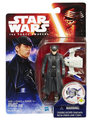 Star Wars Force Awakens First Order General Hux 3.75 Inch Action Figure
