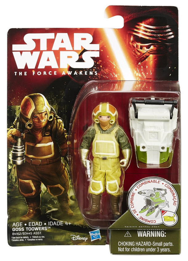 Star Wars Force Awakens Goss Toowers 3.75 Inch Action Figure