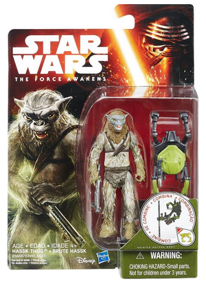 Star Wars Force Awakens  Hassk Thug 3.75 Inch Action Figure