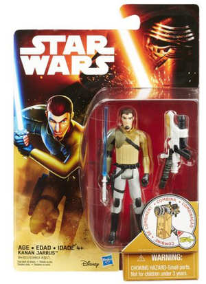 Star Wars Force Awakens Kanan Jarrus 3.75 Inch Action Figure