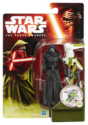 Star Wars The Force Awakens Kylo Ren (Alternate Card) 3.75 Inch Action Figure
