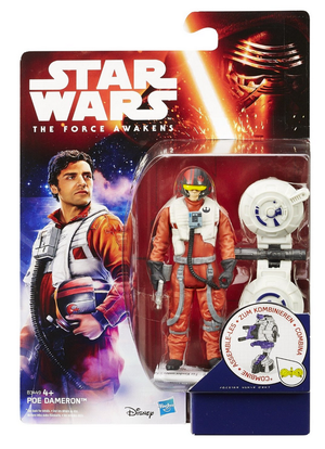 Star Wars Force Awakens Poe Dameron 3.75 Inch Action Figure