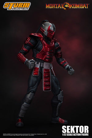 Mortal Kombat Storm Collectibles Sektor 1:12 Scale Action Figure