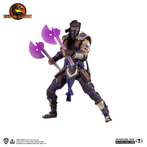 Mortal Kombat McFarlane Sub-Zero Purple 7 Inch Action Figure