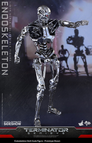 Terminator Hot Toys Endoskeleton Genisys 1:6 Scale Action Figure HOTMMS352