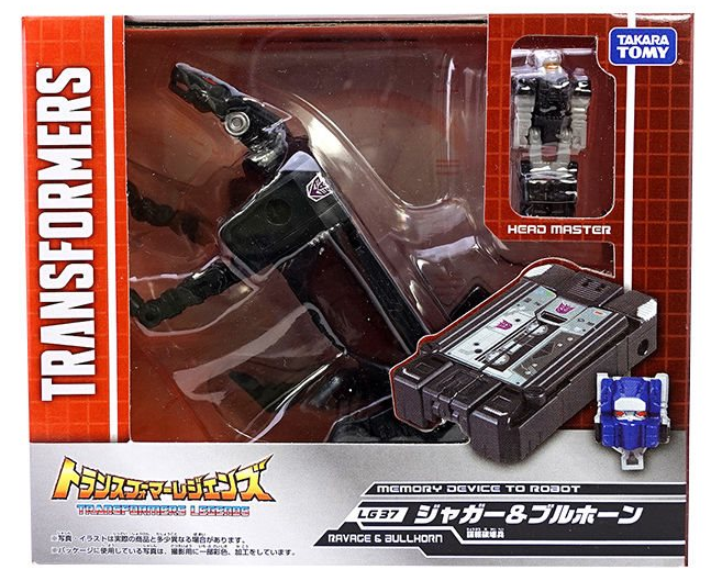Transformers Takara Tomy LG-37 Ravage & Bullhorn Action Figure