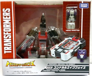 Transformers Takara Tomy LG-38 Laserbeak & Apeface Action Figure