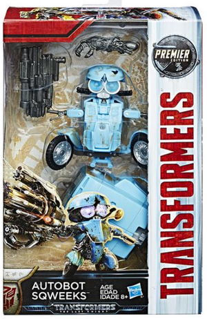 Transformers The Last Knight Deluxe Sqweeks Action Figure