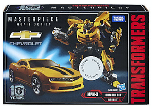 Transformers Takara Masterpiece Movie Series Bumblebee MPM-03