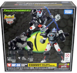 Transformers Takara Tomy Masterpiece MP-38 Optimus Primal Convoy Beast Wars