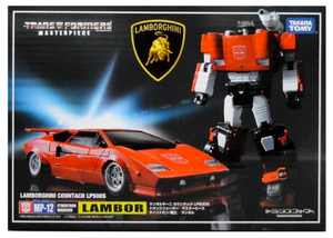 Transformers Takara MP-12+ Masterpiece Sideswipe / Lambor