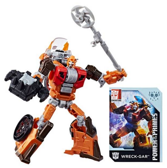 Transformers Power Of The Primes Exclusive Deluxe Wreck-Gar Action Figure